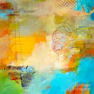 Beach Landscape Mixed Media - Oh Chutes by Lisa Schafer