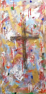 Painting - Oh Heavenly Father by Gh FiLben