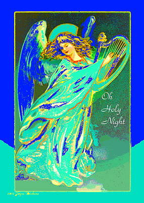 Digital Art - Oh Holy Night by Joyce Dickens