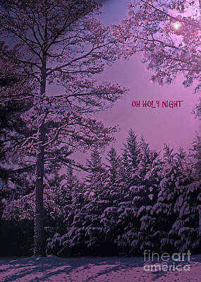 Oh Holy Night Art Print