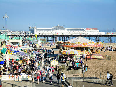 Photograph - Oh I Do Like To Be Beside The English Seaside by David Hill