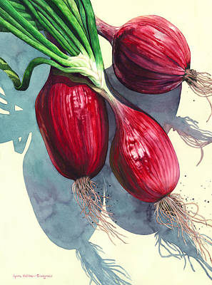 Painting - Oh I Like Onions by Lynda Hoffman-Snodgrass