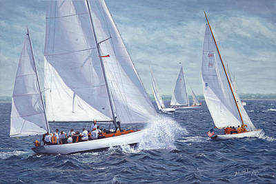 Cape Cod Painting - Oh Is For Opera by Julia O'Malley-Keyes