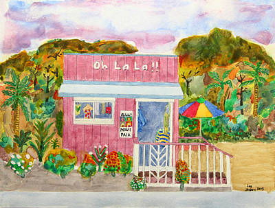 Photograph - Oh La La Fashion Boutique by John Orsbun