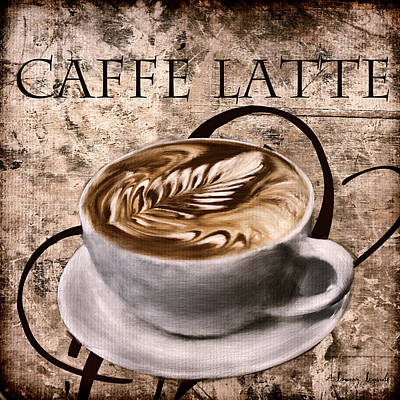 Coffee Grinder Digital Art - Oh My Latte by Lourry Legarde