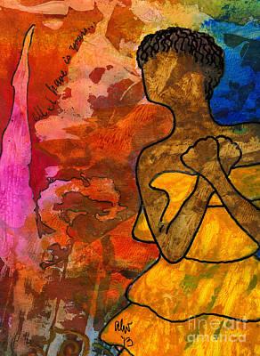 Painting - Oh Please Hear My Prayer by Angela L Walker