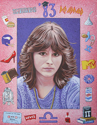 Def Leppard Painting - Oh Sherrie by Lance Bifoss