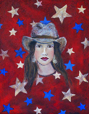 July 4th Painting - Oh Suzannah by The Art With A Heart By Charlotte Phillips