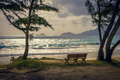 Art Print featuring the photograph Oahu Sunrise by Steven Sparks