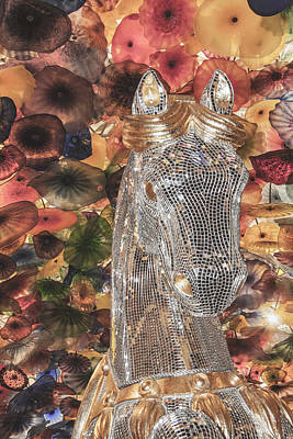Horse Jewelry Photograph - Ohhhh Horseflowers by David Kehrli