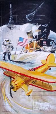 Neil Painting - Ohio Aviation by William III
