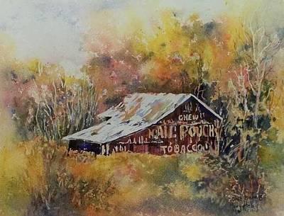 Painting - Ohio Barn 3 by Mary Haley-Rocks