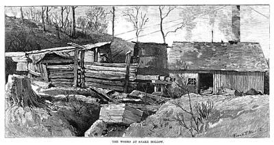 Ohio Painting - Ohio Coal Miner Works by Granger