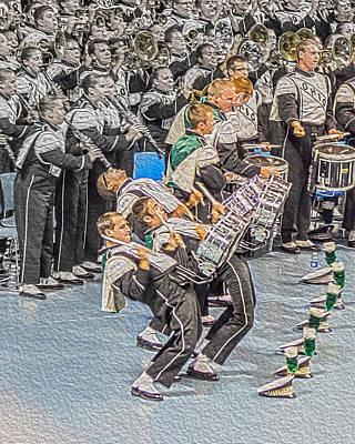 Ohio Drum Line Art Print by Tom Gari Gallery-Three-Photography