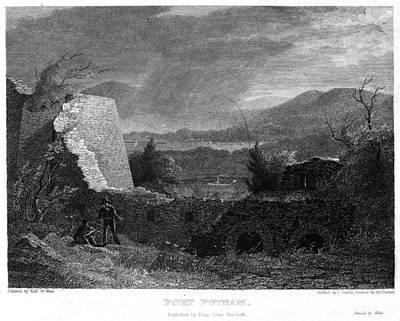Ohio Painting - Ohio Fort Putnam Ruins by Granger