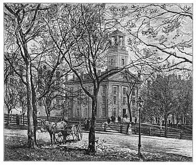 Ohio Painting - Ohio Marietta College by Granger