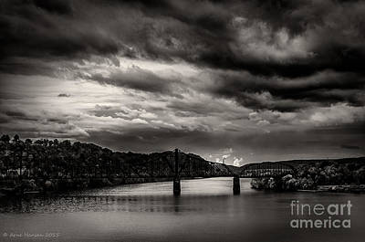 Photograph - Ohio River by Arne Hansen