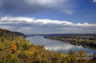 Ohio River - D003157 Art Print