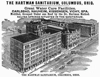 Ohio: Sanitarium, 1901 Art Print by Granger