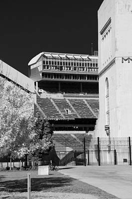 Photograph - Ohio Stadium 9207 by Guy Whiteley