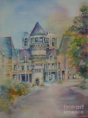 Ohio State Reformatory Art Print by Mary Haley-Rocks