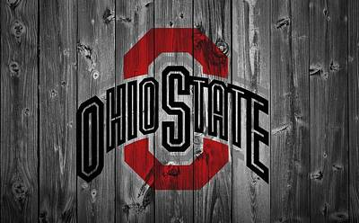Baseball Games Digital Art - Ohio State University by Dan Sproul