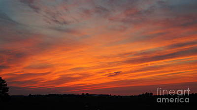Photograph - Ohio Sunset 3 by Rachel Munoz Striggow