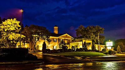 Ou. Ohio University Photograph - Ohio University Inn by Shirley Tinkham