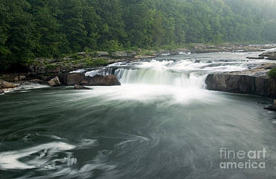 Photograph - Ohiopyle Falls In Pennsylvania by Jeannette Hunt