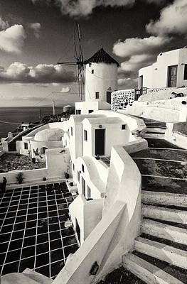 Oia - Santorini - Greece Art Print
