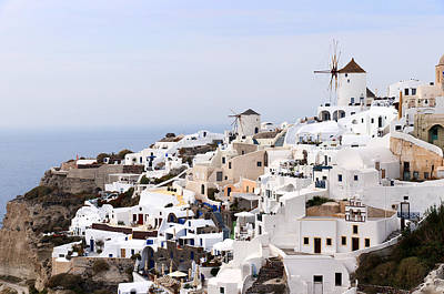 Photograph - Oia On Santorini by Brenda Kean
