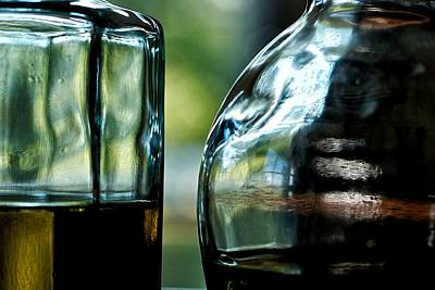 Oil And Vinegar 3 Art Print by Guillermo Hakim