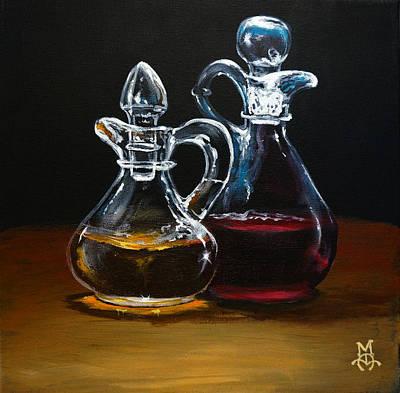 Oil And Vinegar Art Print
