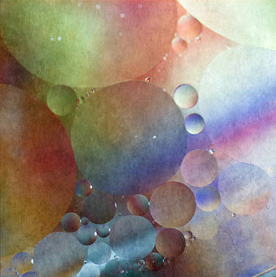 Photograph - Oil And Water by Angie Vogel