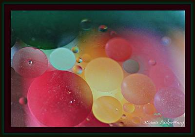 Photograph - Oil And Water by Michaela Preston