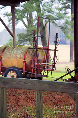 Photograph - Oil Barrel by Affini Woodley