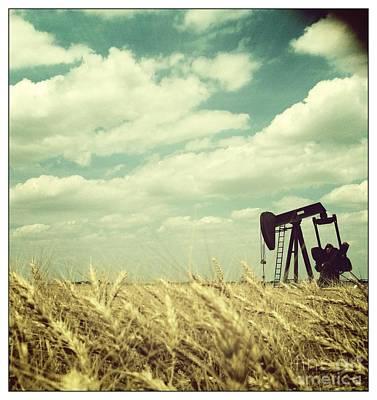 Oil Pumper Photograph - Oil Boom by Becky Gossett