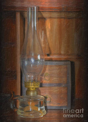 Photograph - Oil Lamp by Liane Wright