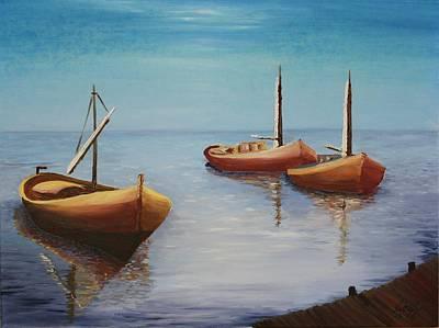 Oil Msc 023  Art Print