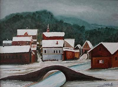Oil Msc 032  Art Print