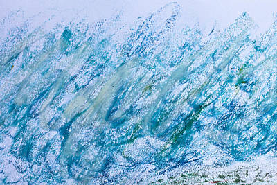 Messy Photograph - Oil Pastel Marks by Tom Gowanlock