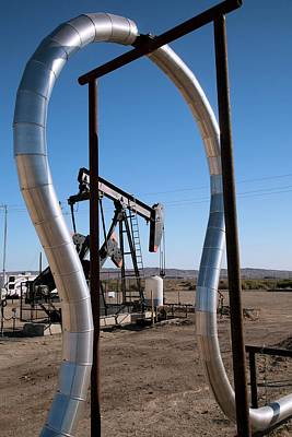 Oil Pump Photograph - Oil Production by Jim West