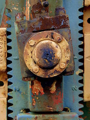 Photograph - Oil Pump Splines by James Granberry