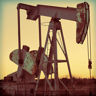 Oil Pump Art Print by Tony Grider
