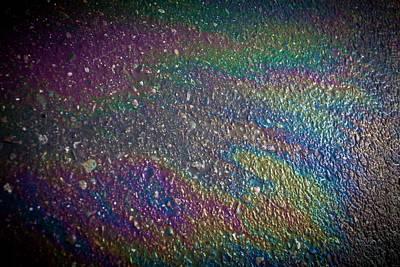 Oil Rainbow Art Print