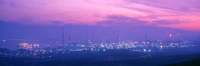 Oil Refinery, Andalucia, Spain Art Print by Panoramic Images