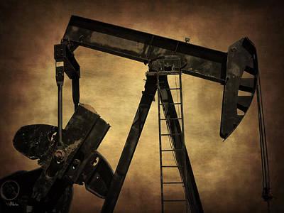 Oil Pumper Photograph - Pumpjack by Christine Hauber