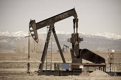 Photograph - Oil Well Seesaw For The Birds by James BO Insogna