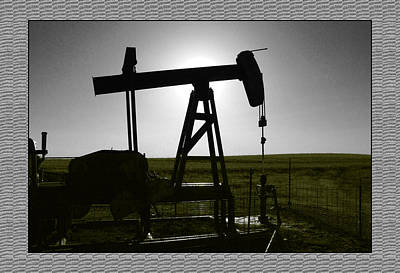 Oil Well Art Print