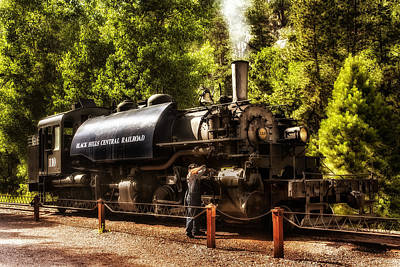 Photograph - Oiling The 110 by Mary Jo Allen